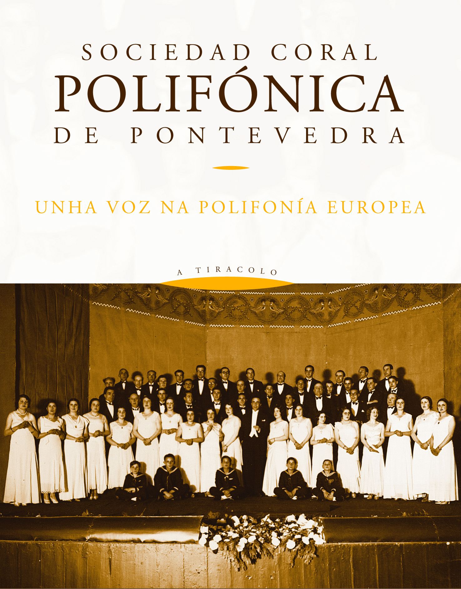 O Concello de Pontevedra e Ouvirmos recuperan gravacións historicas da Polifónica