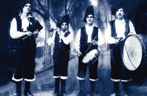 Os Soutelos ao comezo da sua carreira ca. 1919