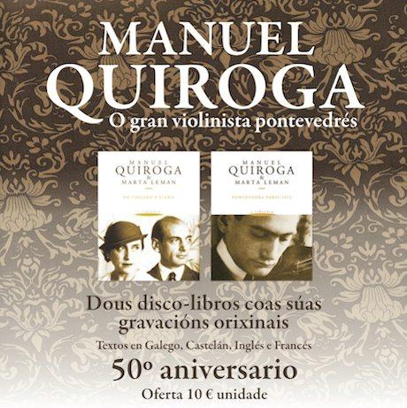 Manuel Quiroga & Marta Leman: De violino e piano