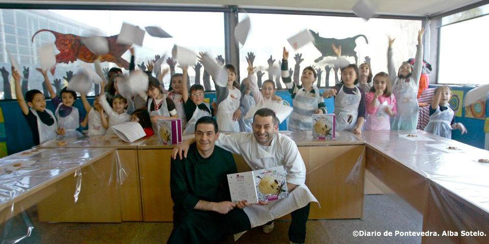 Cursos de cociña infantil nas Feiras do Libro