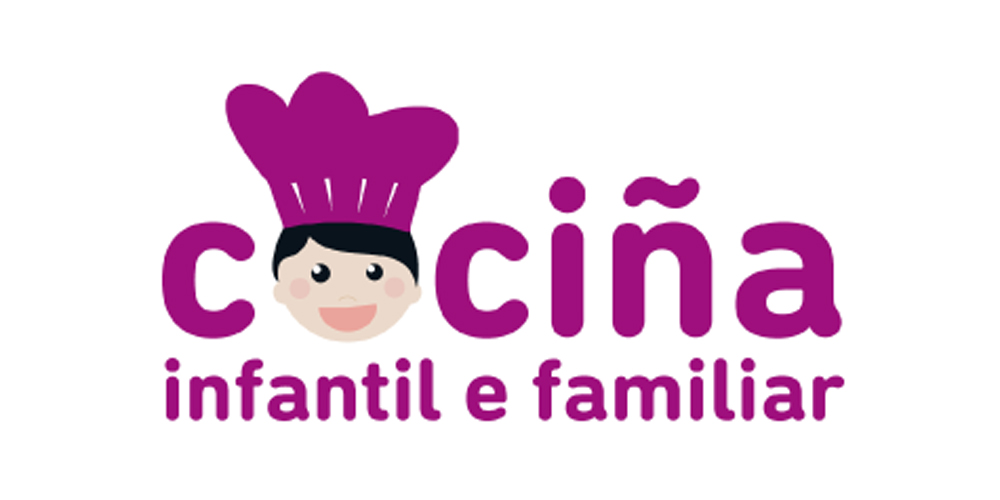 """Desfruta en familia cos libros de """"Cociña Infantil e Familiar"""" de Ouvirmos"""