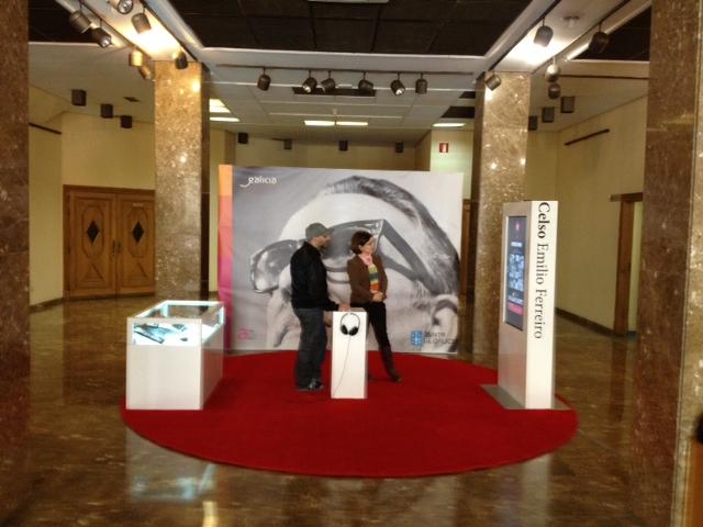 Chega a Pontevedra a expo de Celso Emilio