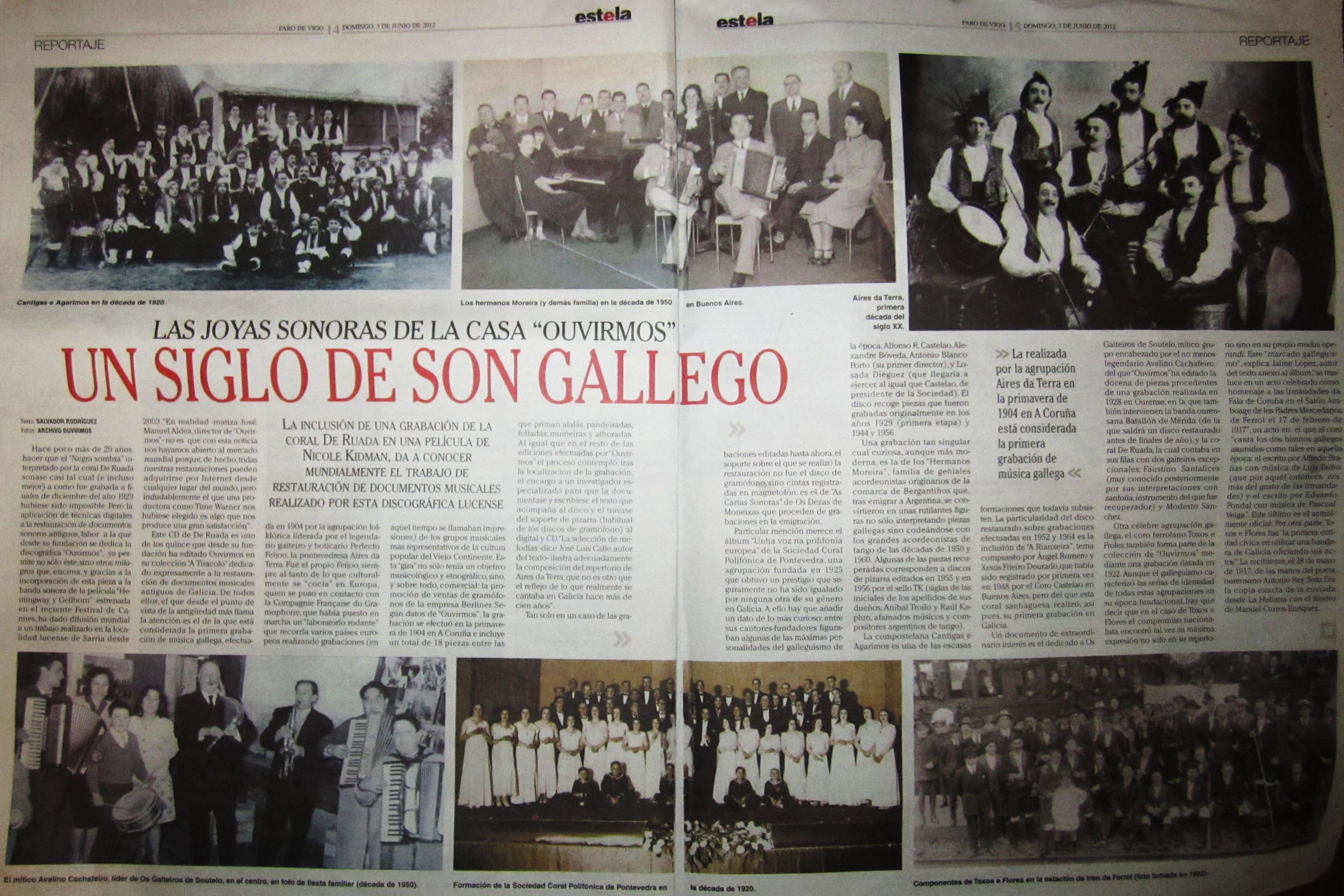 As xoias sonoras de Ouvirmos no Faro de Vigo