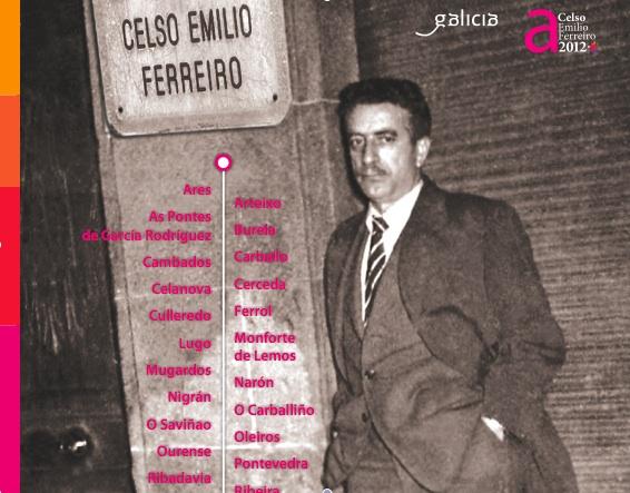 Celso Emilio vive nas rúas de Pontevedra e Coruña