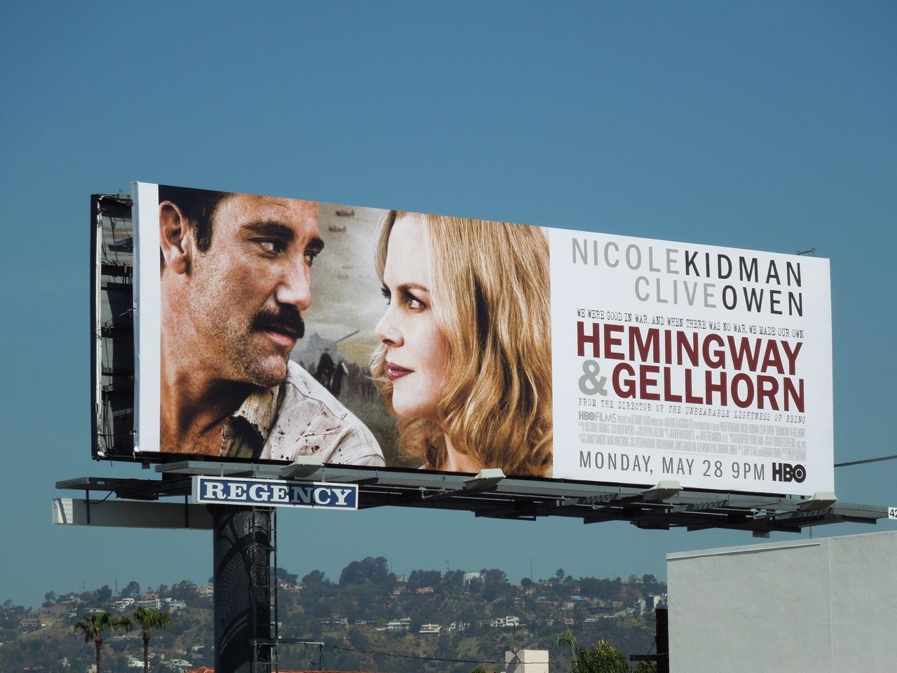 "Canal Plus emite ""Hemingway & Gellhorn"""