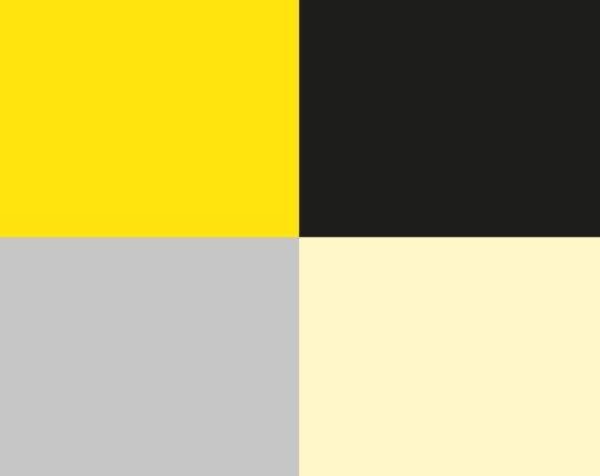 Amarelo e negro