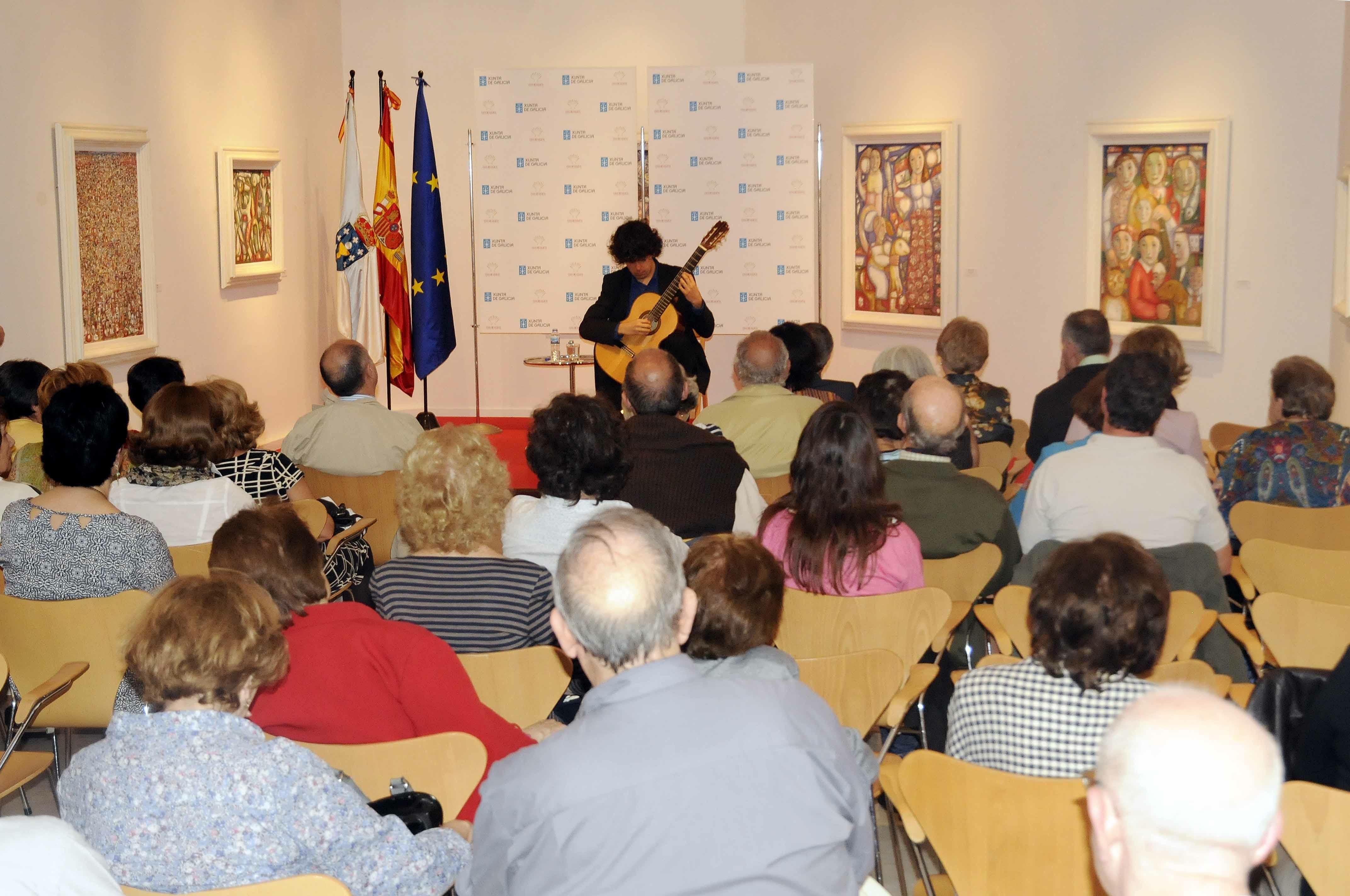 Éxito de Samuel Diz en Madrid