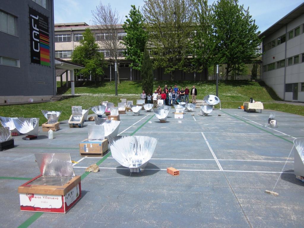Encontro de cociña solar
