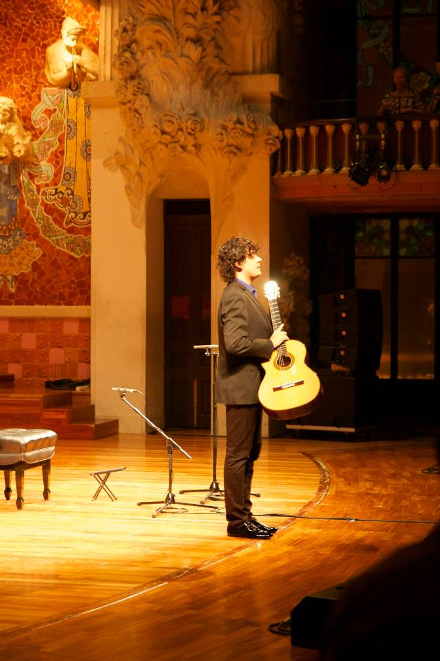 Samuel Diz, Premio da Crítica 2013 no Palau