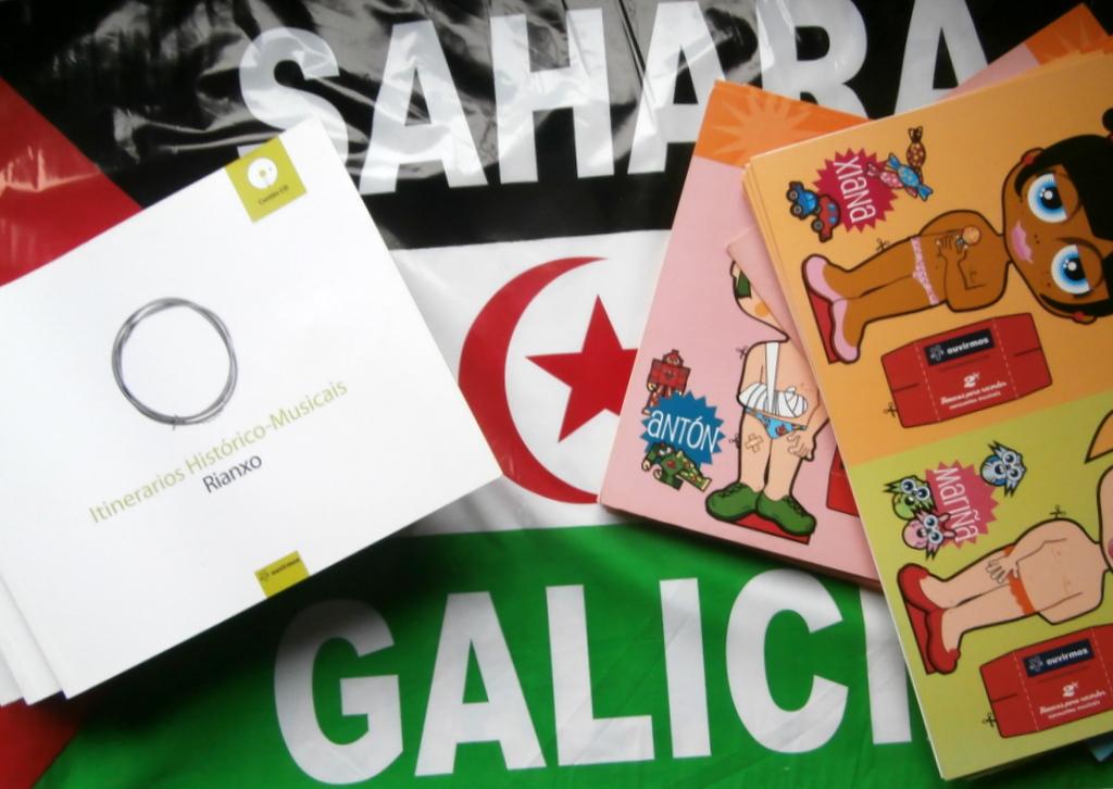 Apoio aos nenos saharauis desde Rianxo