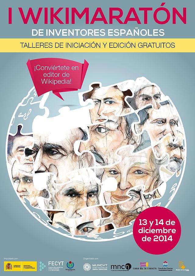 I Wikimaratón científico na Coruña