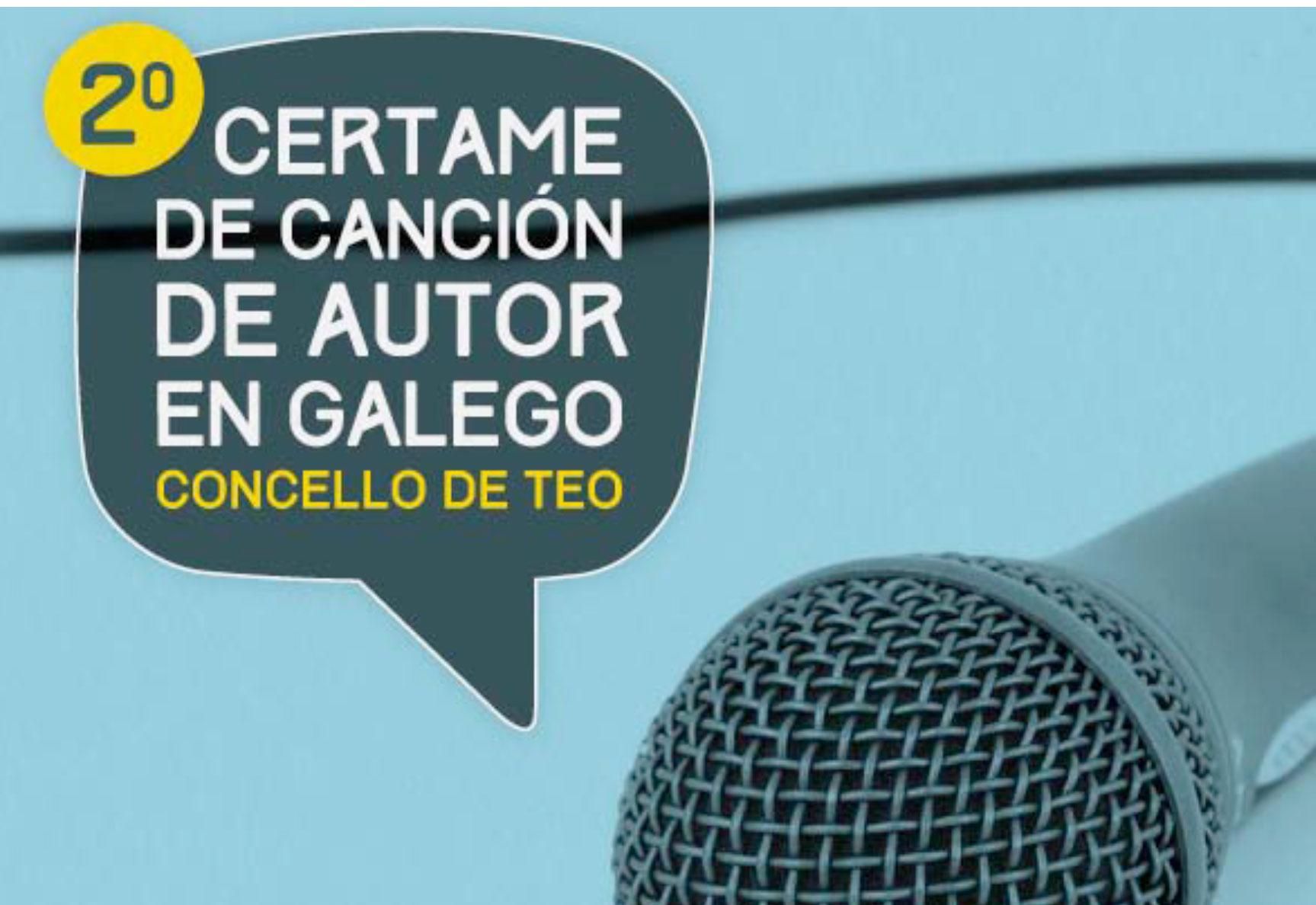 "Certame de canción de autor en galego ""Concello de Teo"""