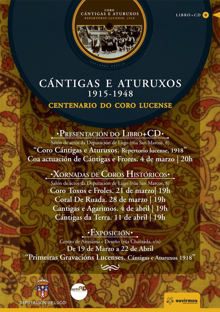 Abre en Lugo a mostra sobre Cántigas e Aturuxos