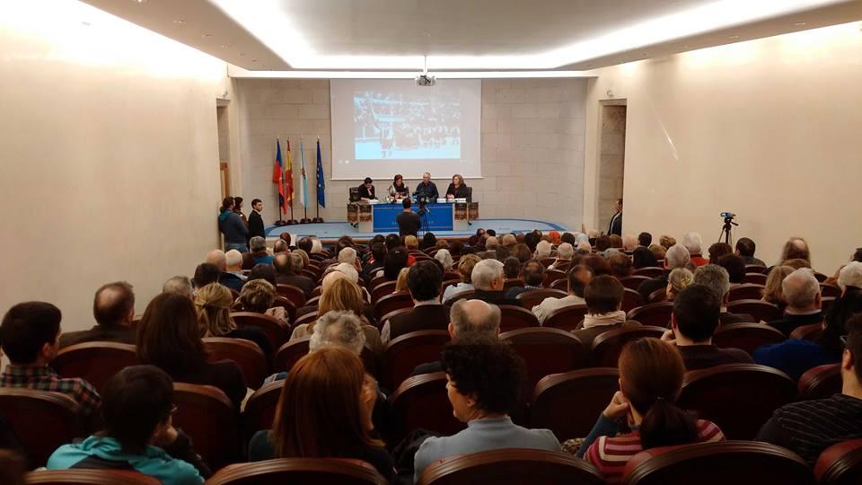 Exitosa e histórica presentación da obra sobre Cántigas e Aturuxos