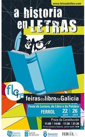 Ferrol, nova parada da Feira do Libro