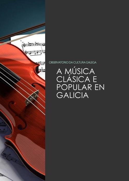 Mapa da música clásica e popular en Galicia