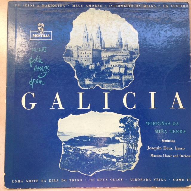 Folk songs from Galicia. Morriñas da Terra de Joaquin Deus no arquivo