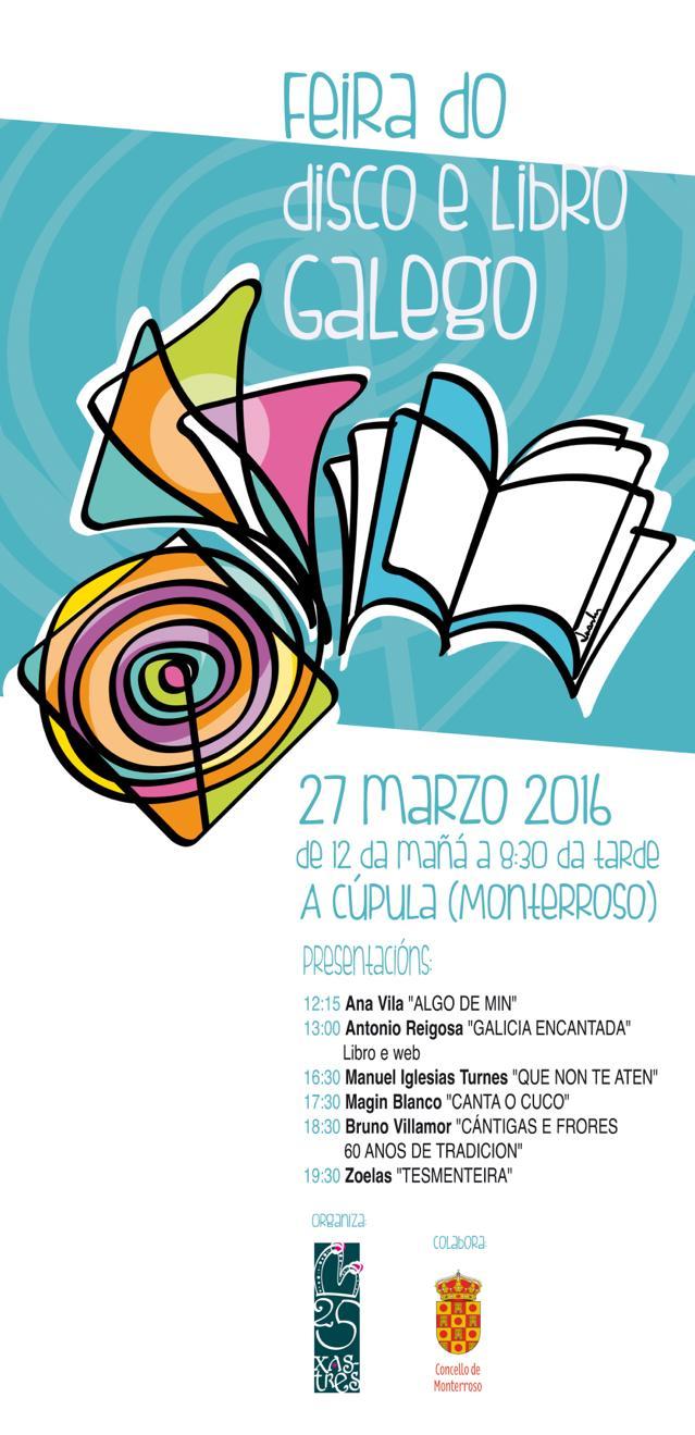 Feira do Disco e Libro Galego en Monterroso