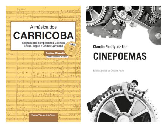 Presentamos libros na Feira de Lugo