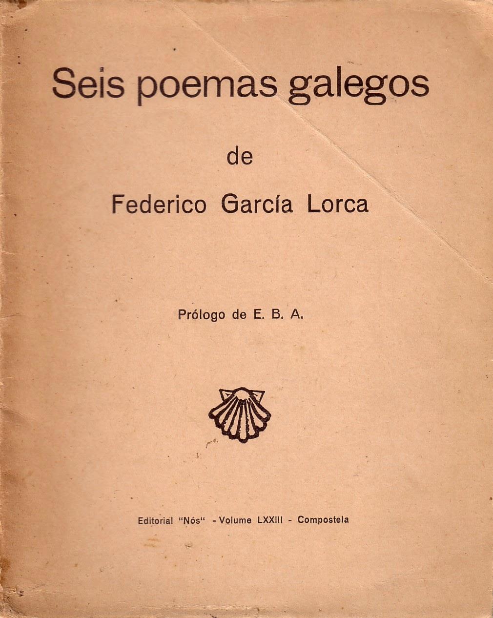 100 anos da primeira visita de Lorca a Galicia