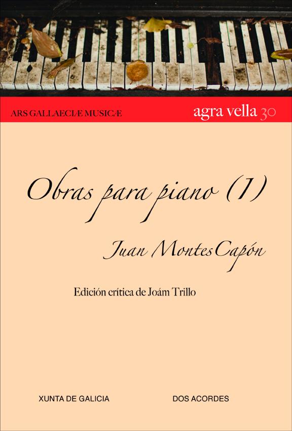 Presentación das obras para piano de Juan Montes