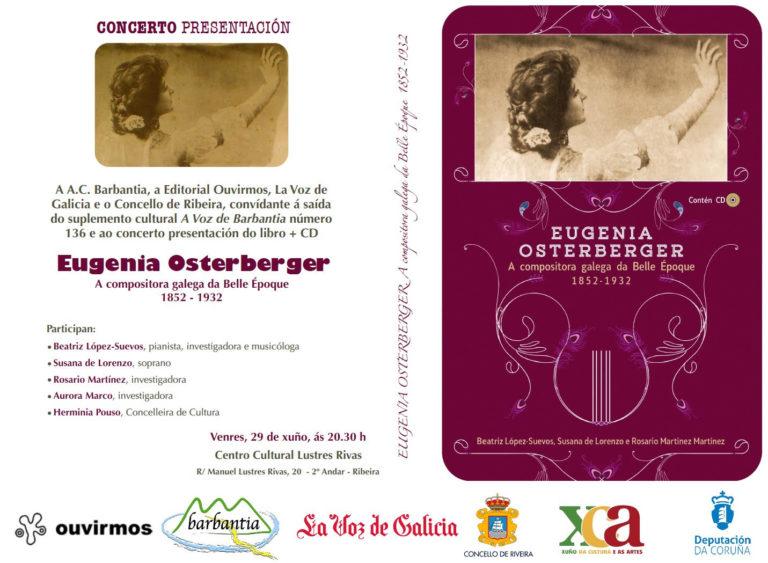 """Presentación de """"Eugenia Osterberger"""" en Ribeira"""