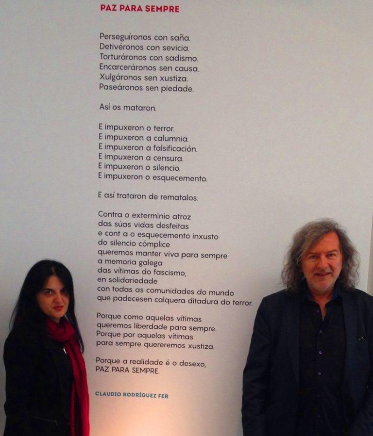 """Presentación de """"A muller sinfonía"""", último poemario de Claudio Rodríguez Fer"""