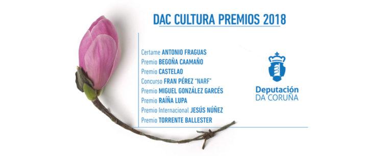 Coordinación Premios Culturais Deputación da Coruña 2018