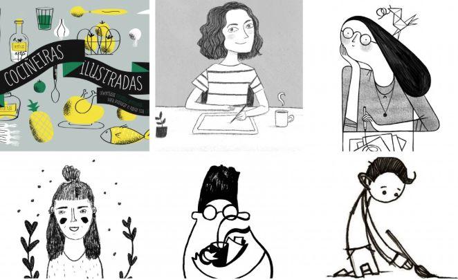 Vídeo Titoriais Cociñeiras ilustradas